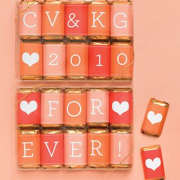 Miniature Love Candy Bars