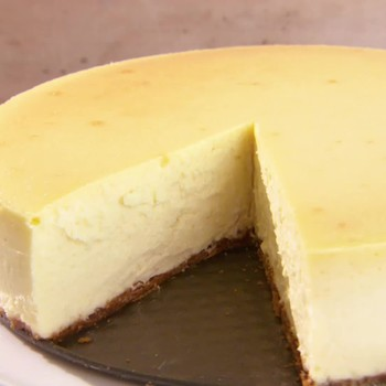 The Perfect New York-Style Cheesecake