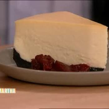 Chocolate Wafer New York-Style Cheesecake