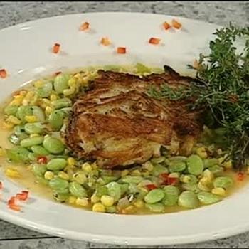 A Creole Succotash Side Dish