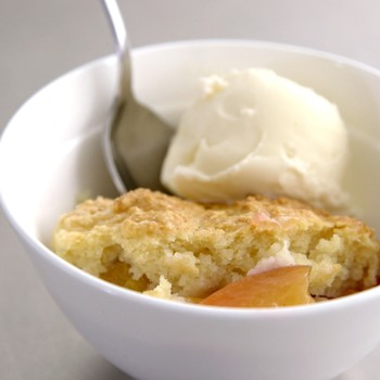 Biscuit-Topped Peach Cobbler