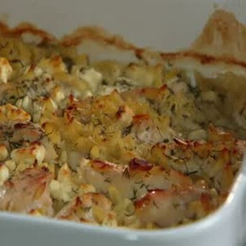 Chicken Lemon Dill with Orzo