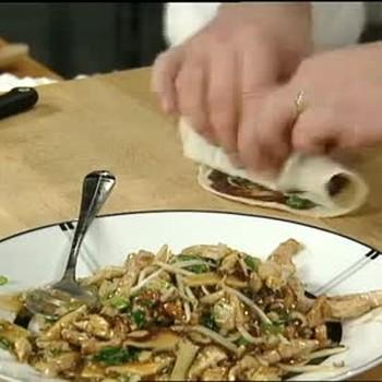 Chinese Moo Shu Pork Pancake