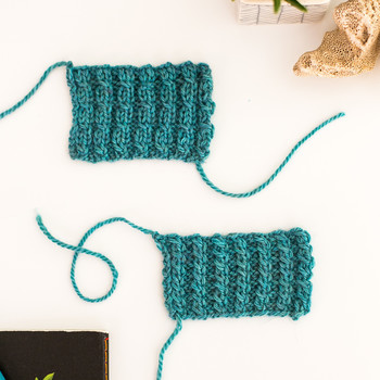 Add a Fun Twist to Your Knitting with Mock Cable Ribbing