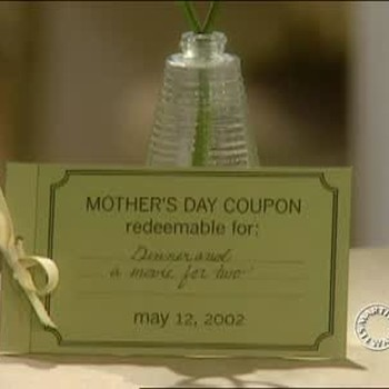 Mother's Day Coupon Gift Book