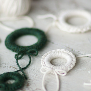 Miniature Crochet Wreaths Video