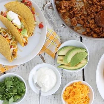 Simple Ground Turkey Tacos