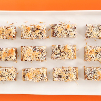 Chocolate-Coconut Cookie Bars