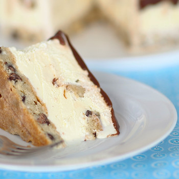 Rich and Buttery Blondie Ice Cream Cake