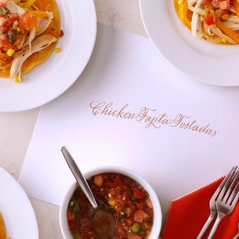 Chicken and Salsa-Fajita Tostadas