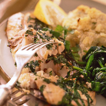 Herbed Striped Bass