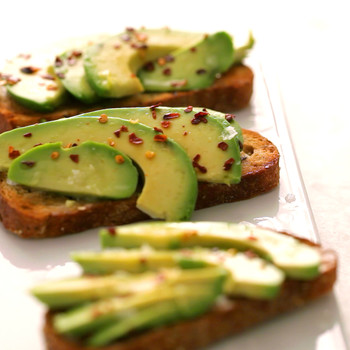 Avocado and Coconut Oil Toast