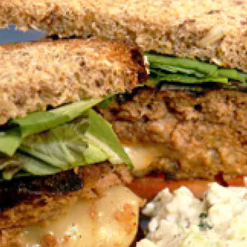 Monterey Jack Stuffed Burger Recipe