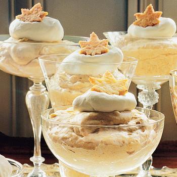 Creamy Pumpkin Mousse Dessert