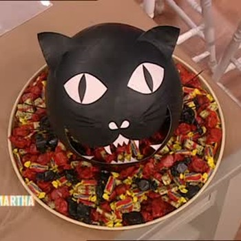 Halloween Cat Candy Dispenser