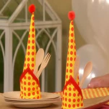 How to Fold Party Hat Napkins