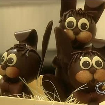 How to Make Chocolate Rabbits