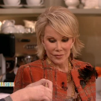 Matzo Latkes with Joan Rivers