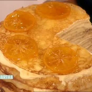Meyer Lemon Crepe Cake, Part 2