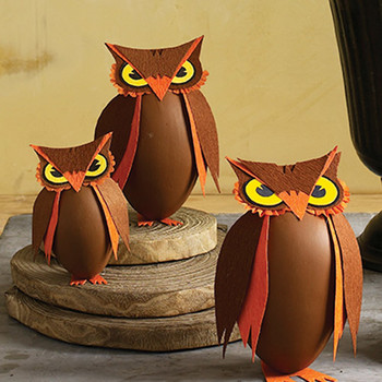 Standing Owl Treat Boxes
