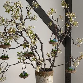 Easter Tree of Egg Nests Video