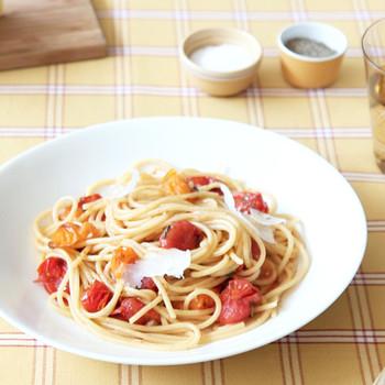 Sautéed Tomato and Herb Pasta