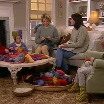 Teaching Children How to Knit