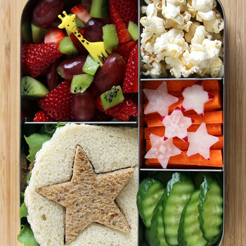 Tempt Picky Eaters with Bento Box Lunches