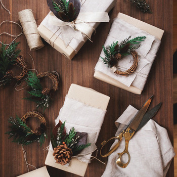 3 Easy Gorgeous Gift Wrap DIYs to Try This Holiday Season