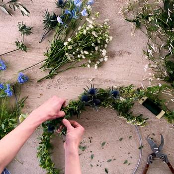 DIY Fresh Flower Wreaths Video
