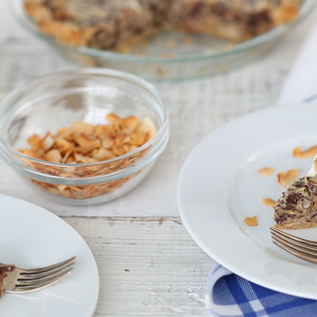 German Chocolate Pie with Toasted Coconut EDFSC