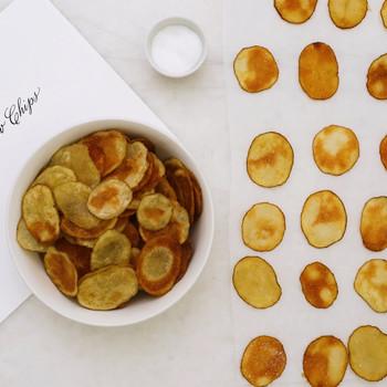 Crisp-Baked Potato Chips