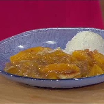 Aretha Franklin's Peach Cobbler