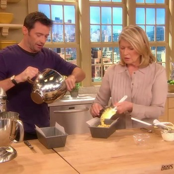 Banana Bread with Hugh Jackman