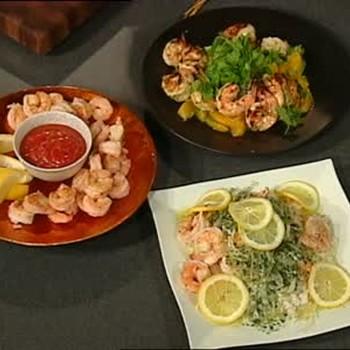 Boiled Shrimp and Shrimp Salad