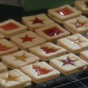 Butter Press Christmas Cookies