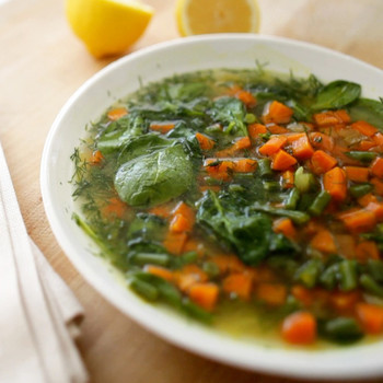 Carrot and Spinach Soup Recipe