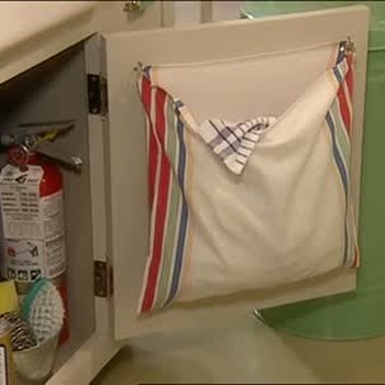 How to Create a Kitchen Laundry Bag