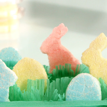 Homemade Colorful Easter Peeps