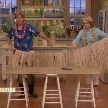 Video How To Make A Plywood Tiki Bar Martha Stewart