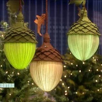 How to Make Acorn Lamps, Part 1