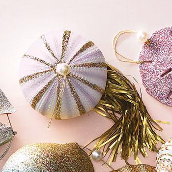 Sea Urchin Jellyfish Ornaments