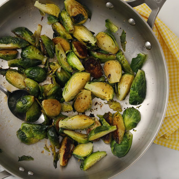 Caramelized Brussels Sprouts with Lemon Video