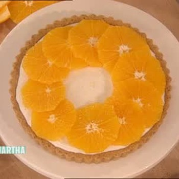 Orange and Yogurt Tart Dessert