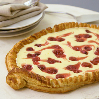 Watch: Cherry-Cheese Strudel Pie