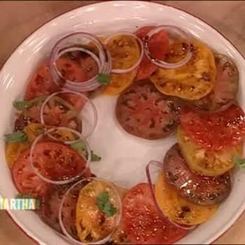 Southern Heirloom Tomato Salad