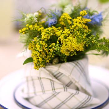 DIY Napkin Flower Holders Video