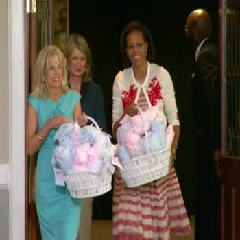 Video A Baby Shower For Military Moms Martha Stewart