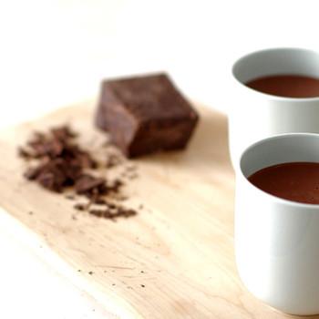 Spiced Almond Milk Hot Chocolate Recipe