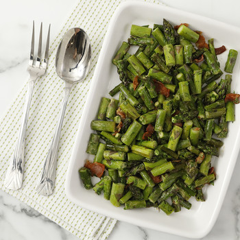 Sauteed Asparagus with Bacon Video